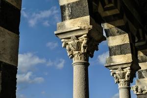 Romanesque-Pisan Abbey in Saccargia, near Sassari, Sardinia, Italy.
